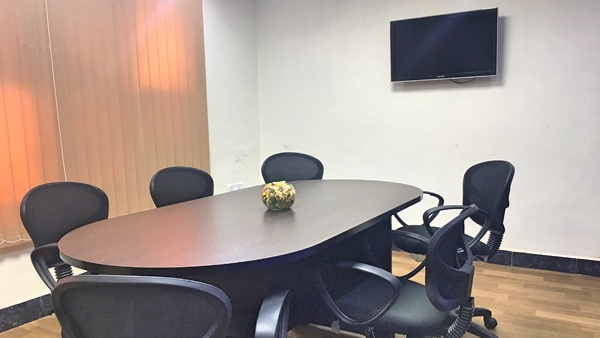 GoSpace 1068 8 Seater - Meeting Room