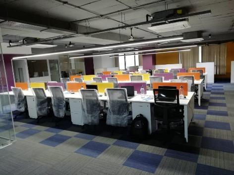 GoOffice 3230 Dedicated Desk | Jubilee Hills