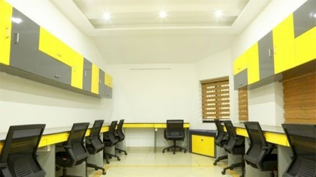 GoOffice 4034 4 Seater Private Cabin