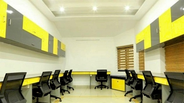 GoOffice 4035 8 Seater Private Cabin