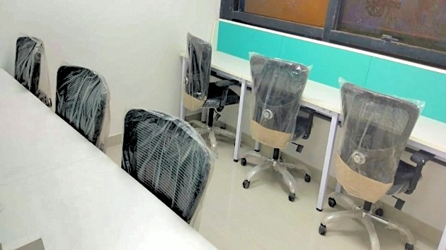 GoOffice 5045 6 Seater Private Cabin