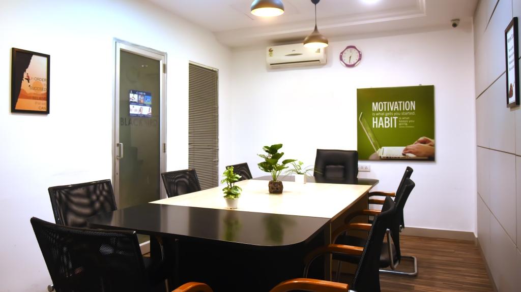 GoSpace 1346 4 Seater Meeting Room | Anna Nagar