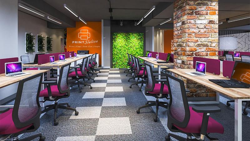 GoOffice 5123 Dedicated Desks | Baner